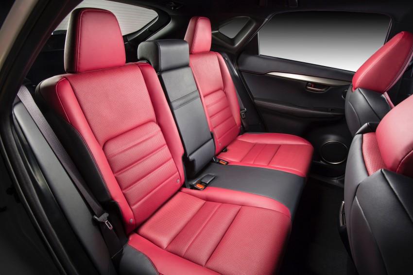 Lexus NX – full details revealed at Auto China 2014 Image #243154