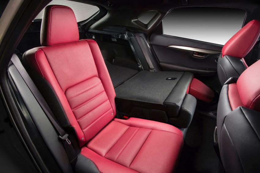 Lexus NX – full details revealed at Auto China 2014 Image #243150