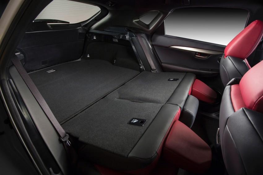 Lexus NX – full details revealed at Auto China 2014 Image #243147