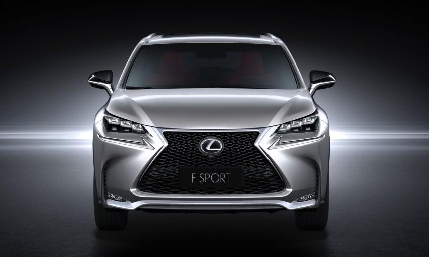 Lexus NX – full details revealed at Auto China 2014 Image #243148