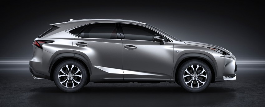 Lexus NX – full details revealed at Auto China 2014 Image #243145