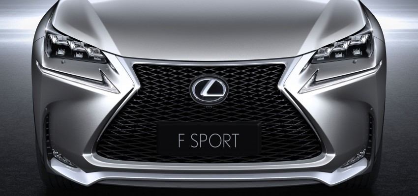 Lexus NX – full details revealed at Auto China 2014 Image #243144