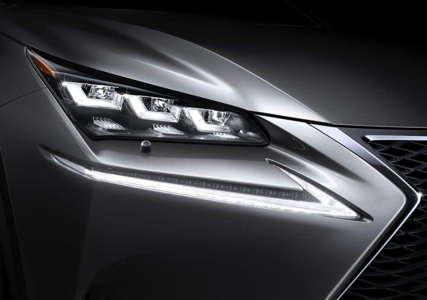 Lexus NX – full details revealed at Auto China 2014 Image #243142