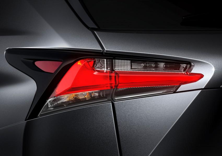 Lexus NX – full details revealed at Auto China 2014 Image #243136
