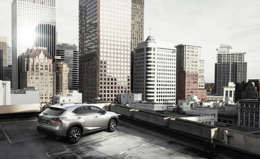 Lexus NX – full details revealed at Auto China 2014 Image #243139