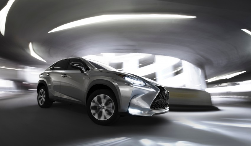 Lexus NX – full details revealed at Auto China 2014 Image #243134