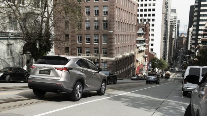 Lexus NX – full details revealed at Auto China 2014 Image #243137