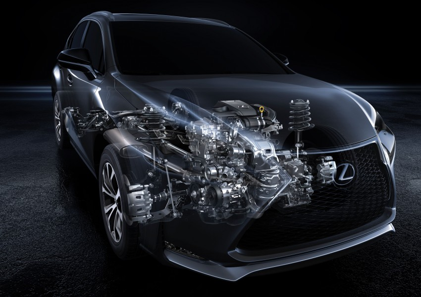 Lexus NX – full details revealed at Auto China 2014 Image #243133