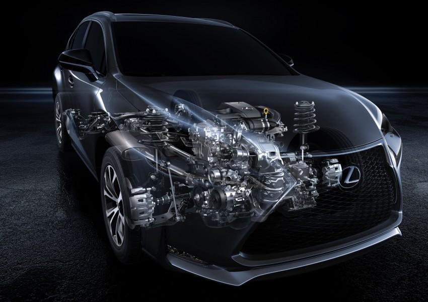 Lexus NX – full details revealed at Auto China 2014 Image #243133