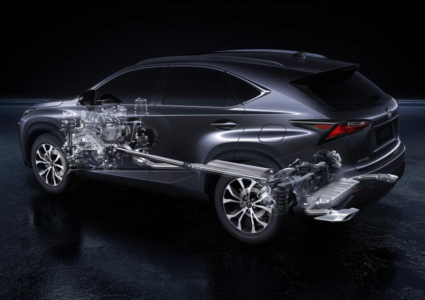 Lexus NX – full details revealed at Auto China 2014 Image #243132