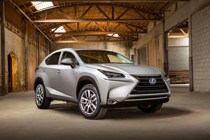 Lexus NX – full details revealed at Auto China 2014 Image #243232