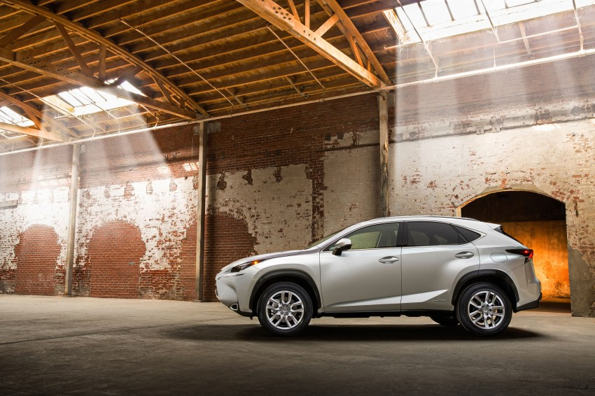 Lexus NX – full details revealed at Auto China 2014 Image #243230