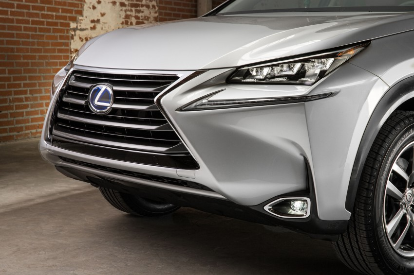 Lexus NX – full details revealed at Auto China 2014 Image #243225