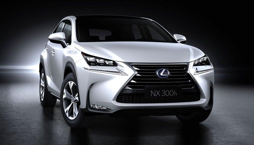 Lexus NX – full details revealed at Auto China 2014 Image #243222
