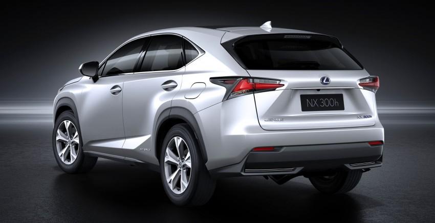 Lexus NX – full details revealed at Auto China 2014 Image #243223