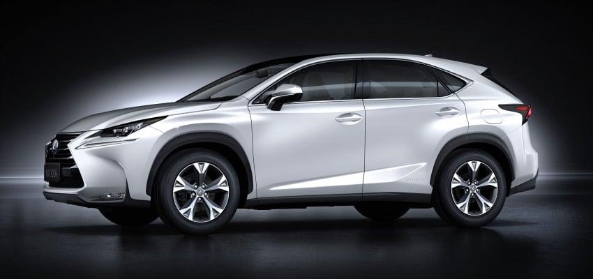 Lexus NX – full details revealed at Auto China 2014 Image #243220