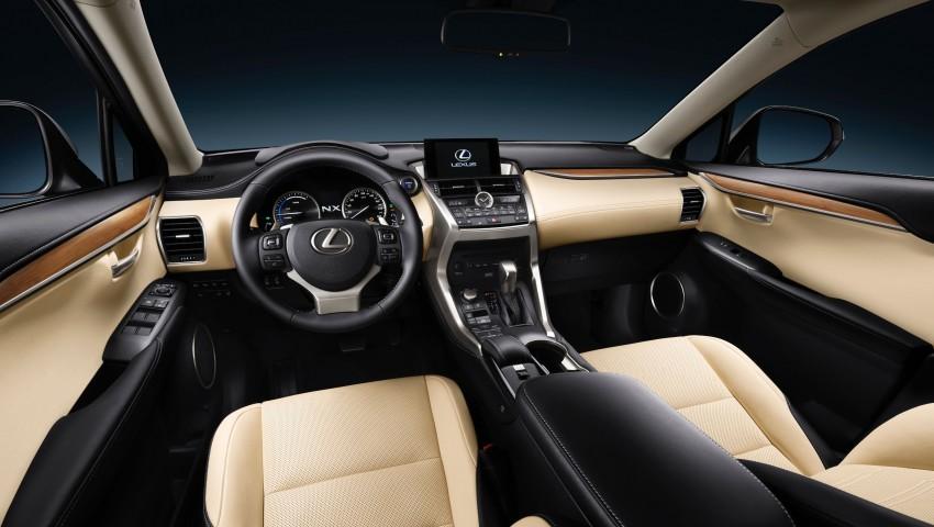 Lexus NX – full details revealed at Auto China 2014 Image #243218
