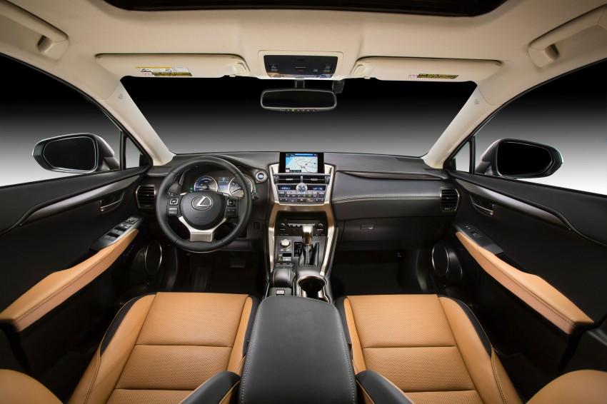 Lexus NX – full details revealed at Auto China 2014 Image #243217