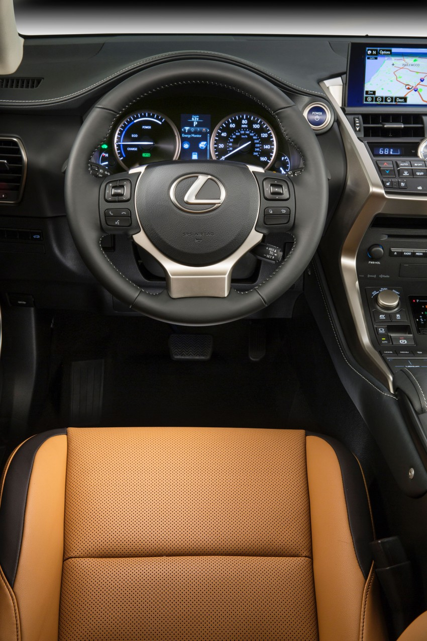Lexus NX – full details revealed at Auto China 2014 Image #243213