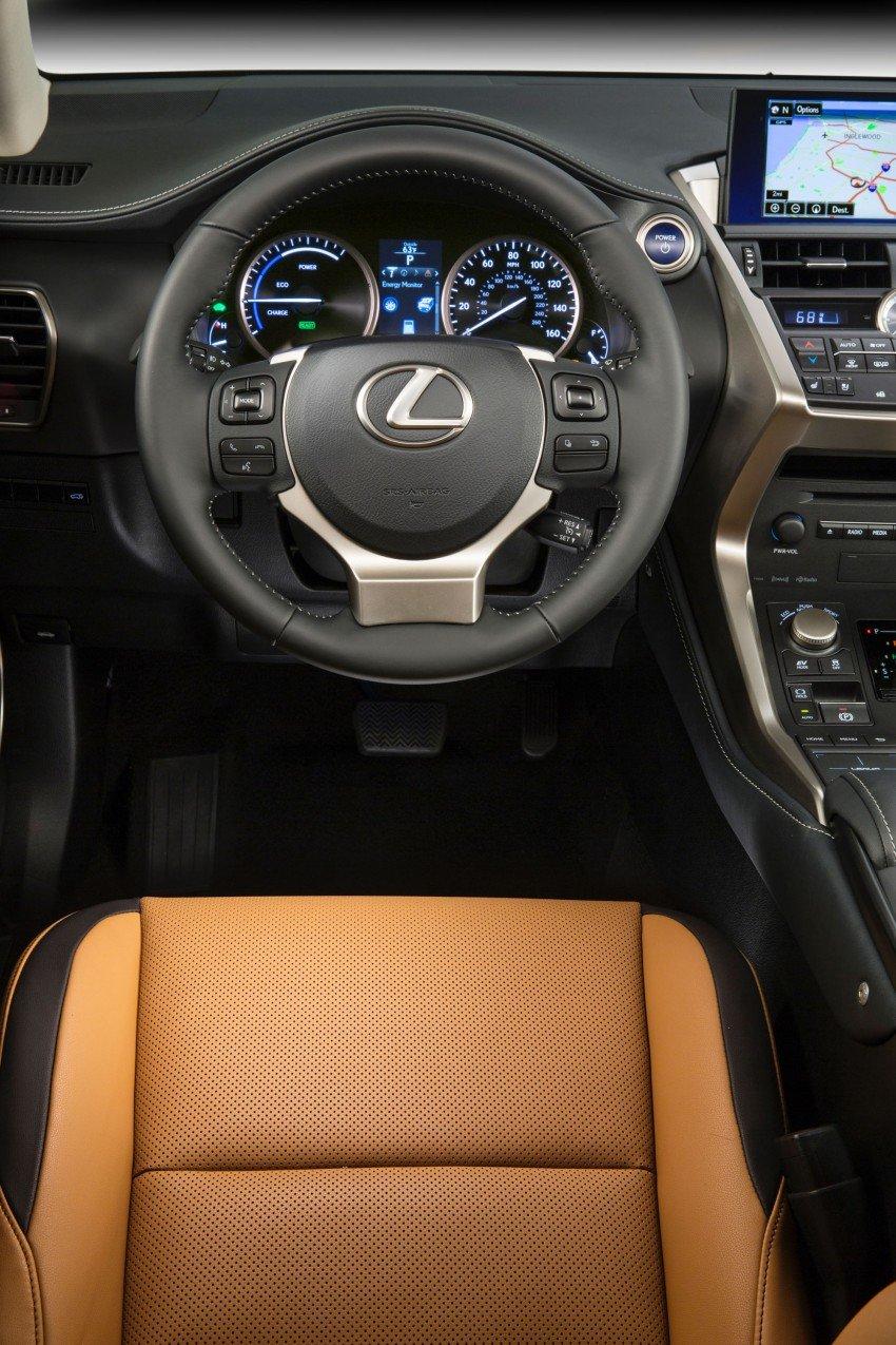 Lexus NX – full details revealed at Auto China 2014 Image #243213