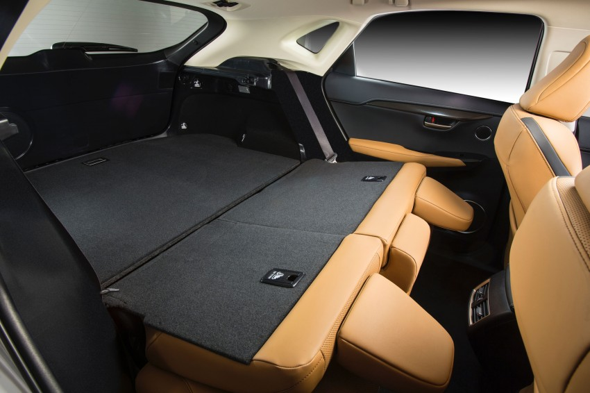 Lexus NX – full details revealed at Auto China 2014 Image #243209