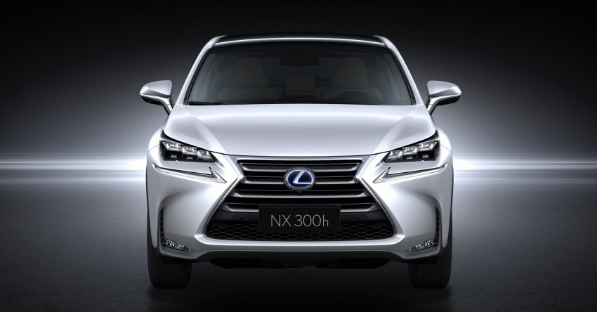 Lexus NX – full details revealed at Auto China 2014 Image #243207