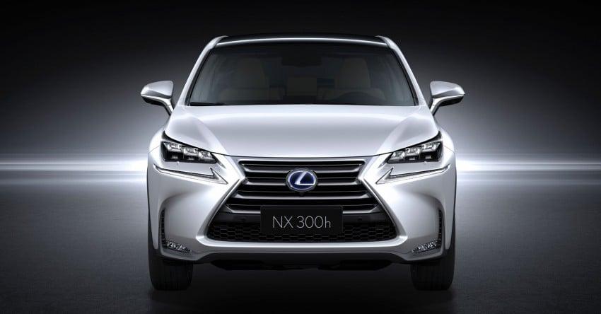 Lexus NX – full details revealed at Auto China 2014 Image #243207