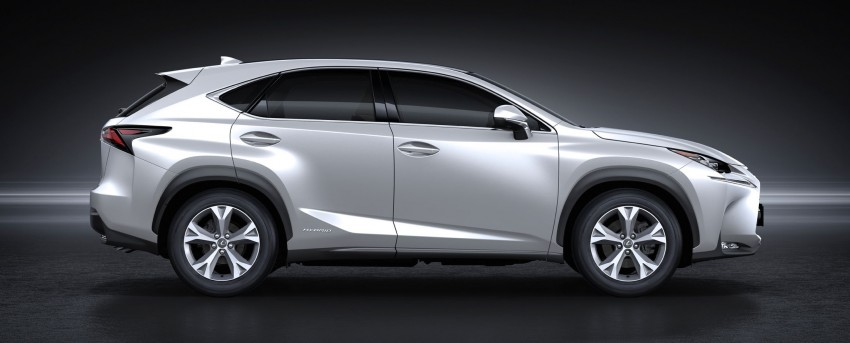 Lexus NX – full details revealed at Auto China 2014 Image #243208