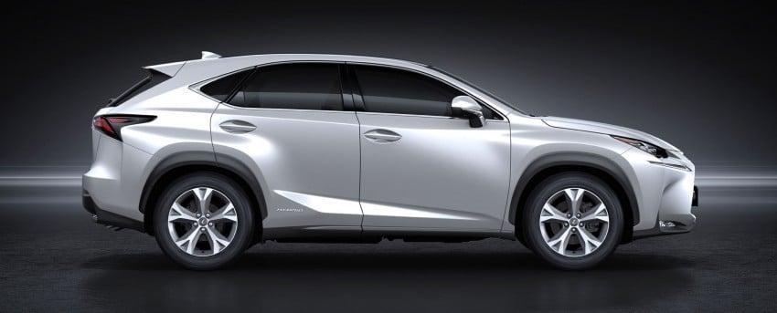 Lexus NX – full details revealed at Auto China 2014 Image #243208