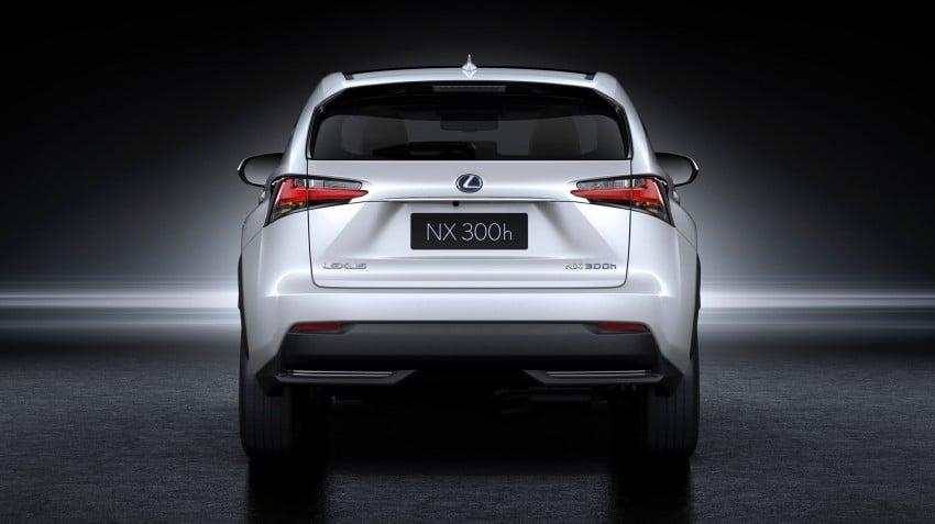 Lexus NX – full details revealed at Auto China 2014 Image #243205