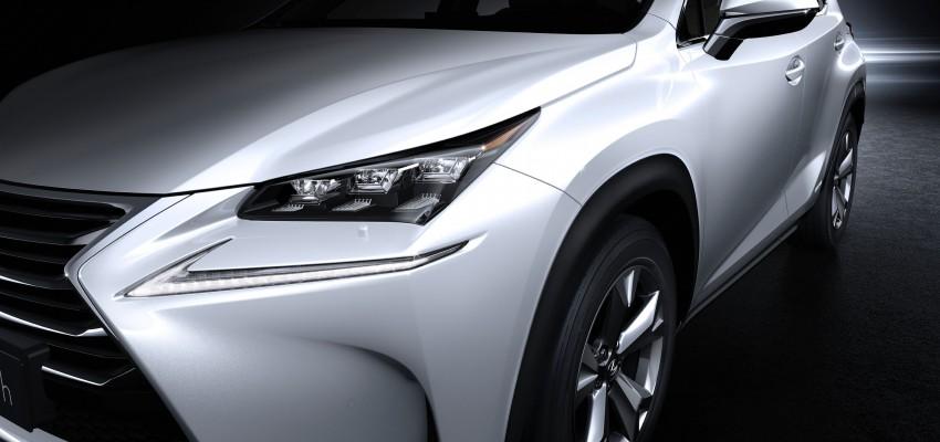 Lexus NX – full details revealed at Auto China 2014 Image #243204