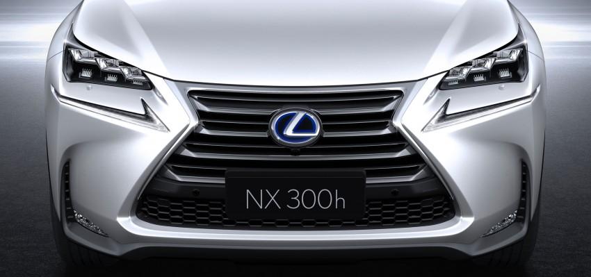 Lexus NX – full details revealed at Auto China 2014 Image #243202