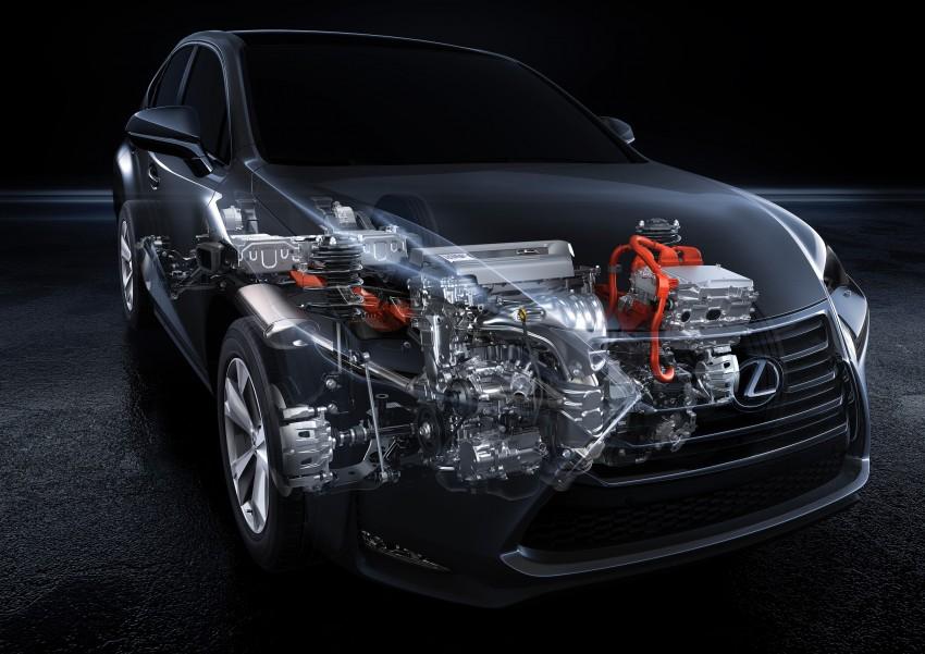 Lexus NX – full details revealed at Auto China 2014 Image #243199