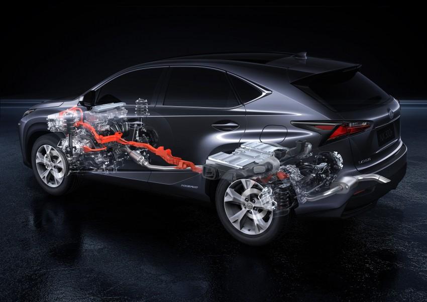 Lexus NX – full details revealed at Auto China 2014 Image #243200