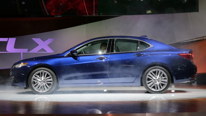 2015 Acura TLX taking the fight to Infiniti and Lexus – offers world's first DCT with torque converter Image #242212