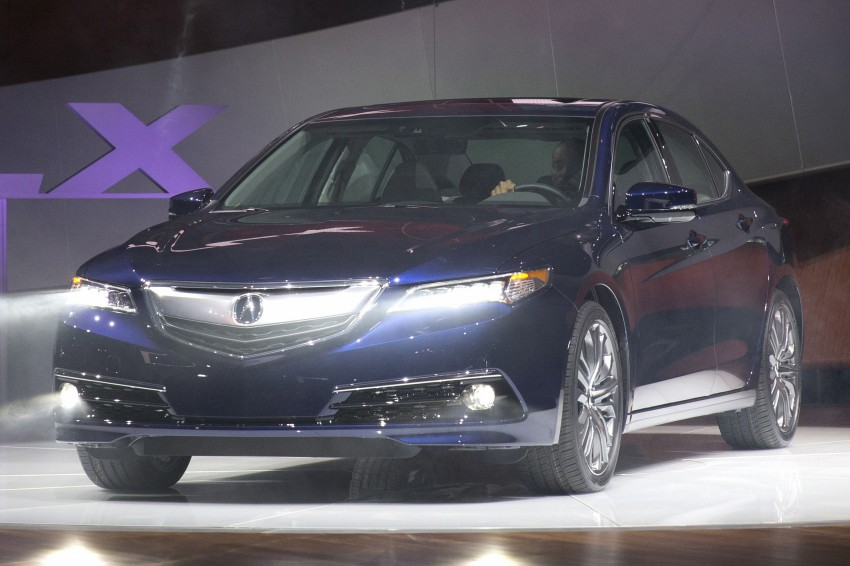 2015 Acura TLX taking the fight to Infiniti and Lexus – offers world's first DCT with torque converter Image #242213