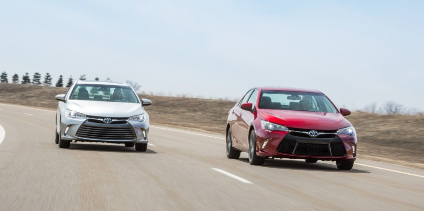 2015 Toyota Camry – major facelift unveiled in NYC Image #241664