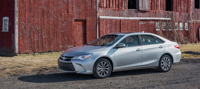 2015 Toyota Camry – major facelift unveiled in NYC Image #241668