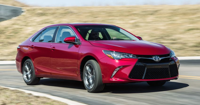 2015 Toyota Camry – major facelift unveiled in NYC Image #241669