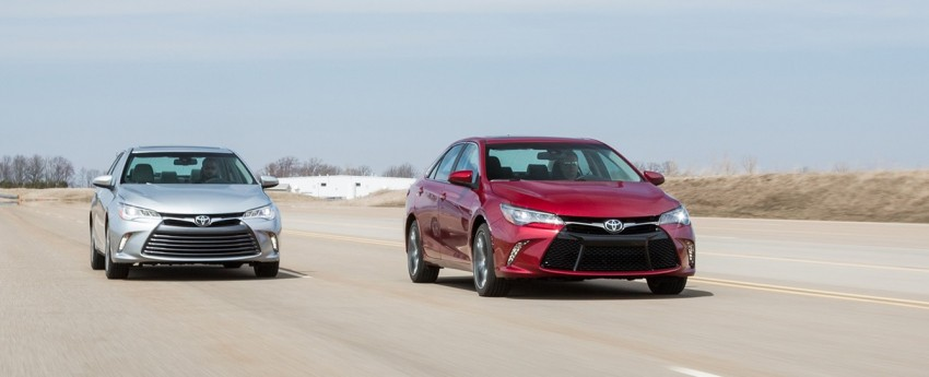 2015 Toyota Camry – major facelift unveiled in NYC Image #241679