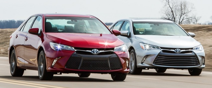 2015 Toyota Camry – major facelift unveiled in NYC Image #241680