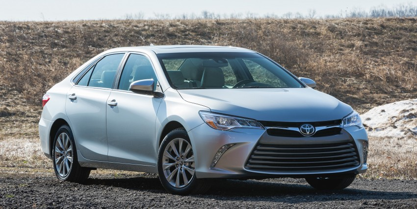 2015 Toyota Camry – major facelift unveiled in NYC Image #241684