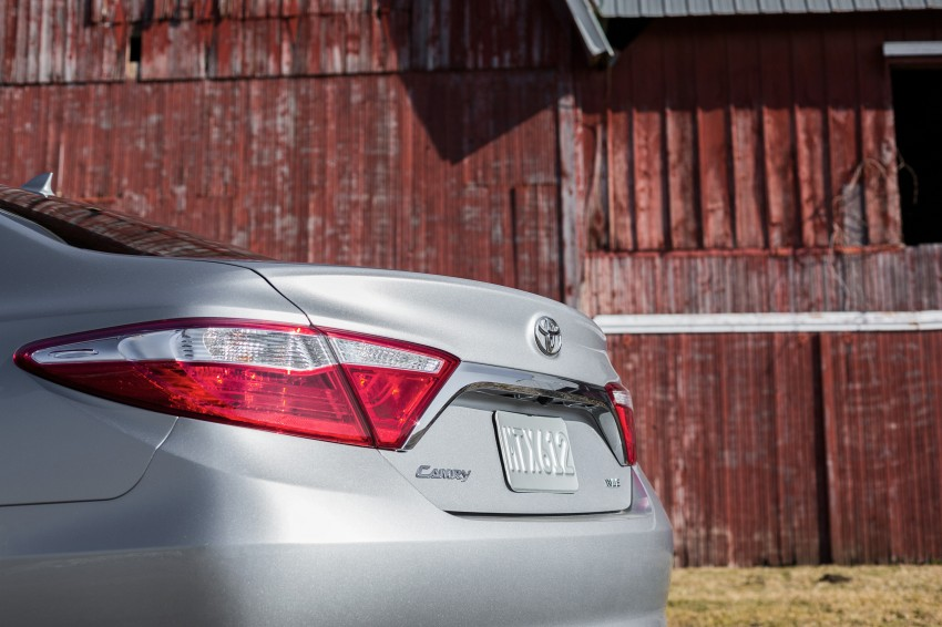 2015 Toyota Camry – major facelift unveiled in NYC Image #241690