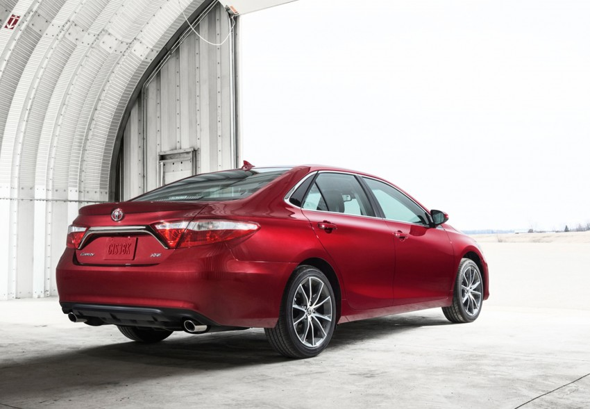 2015 Toyota Camry – major facelift unveiled in NYC Image #241723