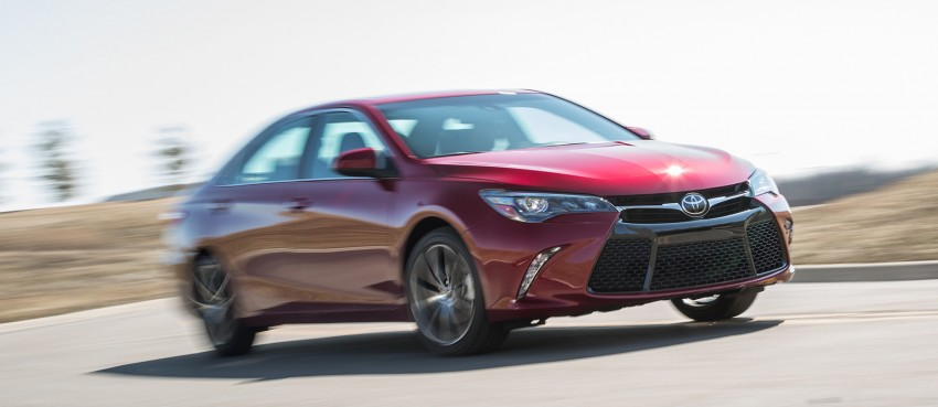 2015 Toyota Camry – major facelift unveiled in NYC Image #241725