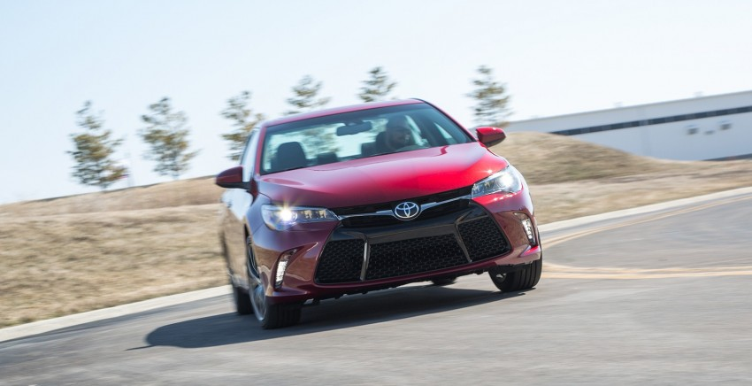 2015 Toyota Camry – major facelift unveiled in NYC Image #241726