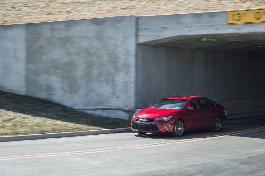 2015 Toyota Camry – major facelift unveiled in NYC Image #241727