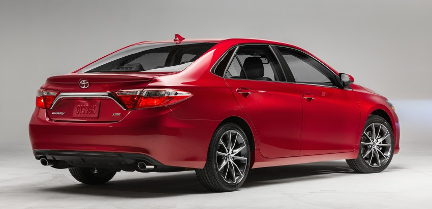 2015 Toyota Camry – major facelift unveiled in NYC Image #241746
