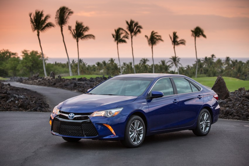 2015 Toyota Camry – major facelift unveiled in NYC Image #333924