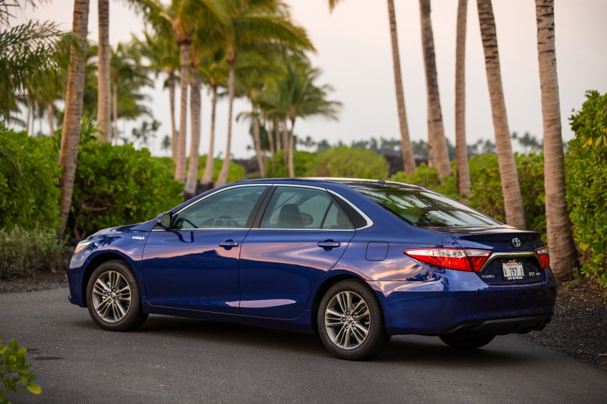 2015 Toyota Camry – major facelift unveiled in NYC Image #333923